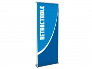 Double-Sided Retractable Banner portable trade show display