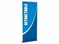 Single-Sided Retractable Banner portable trade show display