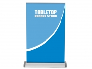 Tabletop Banner Stand portable trade show display